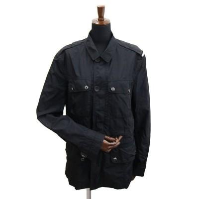 ルイヴィトン コート ブラック ナイロン 中古 ジャケット ショートコート 黒 ブルゾン メンズ LOUIS VUITTON
