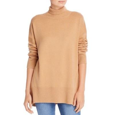 フレンチコネクション ニット&セーター アウター レディース Baby-Soft Turtleneck Sweater Camel Mel