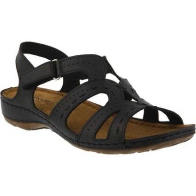 スプリングステップ Flexus by Spring Step レディース サンダル・ミュール シューズ・靴 Sambai Strappy Sandal Black