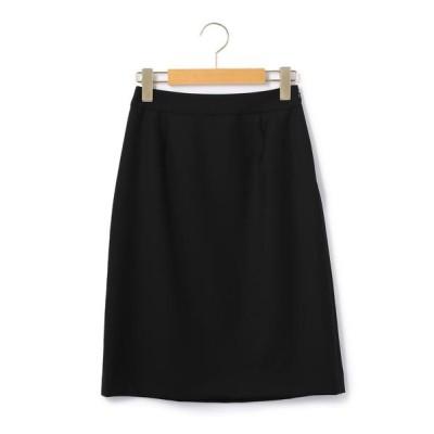 KEITH/キース スーパーファインサージ スカート ブラック 36