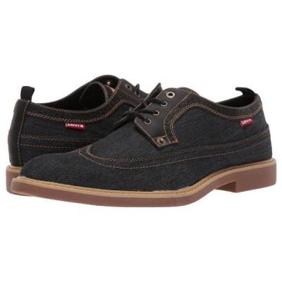 【残り1点!】【サイズ:US10.5】リーバイス Levis メンズ シューズ・靴 革靴・ビジネスシューズ Shoes Tindal DNM Black