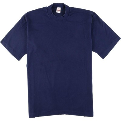 90s FRUIT OF THE LOOM 無地Tシャツ USA製 メンズL /eaa050291