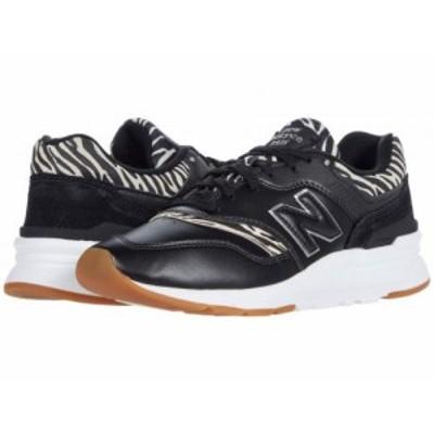 New Balance Classics ニューバランス クラシック レディース 女性用 シューズ 靴 スニーカー 運動靴 997H Black/Gum【送料無料】