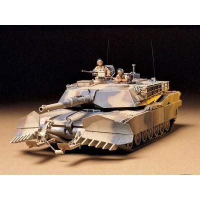タミヤ 1/ 35 ミリタリーミニチュアシリーズ アメリカ戦車 M1A1 マインプラウ (35158)プラモデル 返品種別B