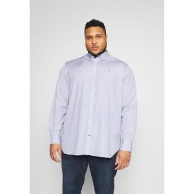トミー ヒルフィガー メンズ シャツ トップス SOFT GEO - Shirt - blue blue