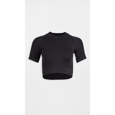 アララ ALALA レディース Tシャツ トップス Flow Seamless Tee Black