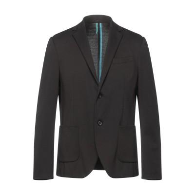 ベルナ BERNA テーラードジャケット ブラック 54 ポリエステル 67% / レーヨン 28% / ポリウレタン 5% テーラードジャケット