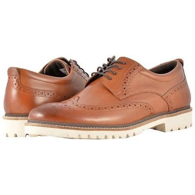 ロックポート Marshall Wingtip メンズ オックスフォード Cognac Leather