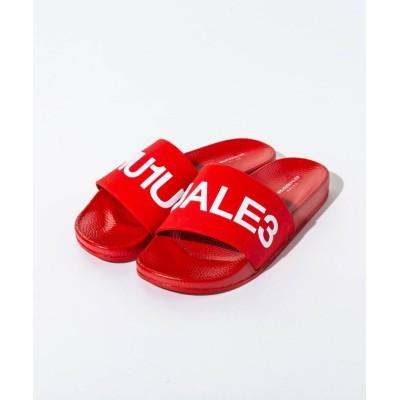 (1PIU1UGUALE3 RELAX/ウノピュウノグアレトレリラックス)1PIU1UGUALE3 RELAX(ウノピゥウノウグァーレトレ) シャワーサンダル/メンズ レッド