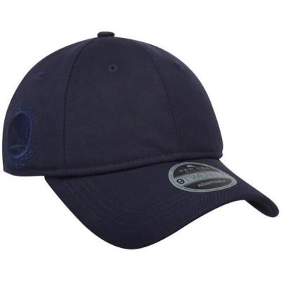 ユニセックス スポーツリーグ バスケットボール Golden State Warriors New Era Black Label Series Suiting 9TWENTY Adjustable Hat - N