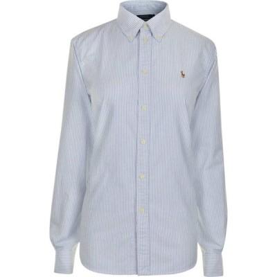 ラルフ ローレン POLO RALPH LAUREN レディース ブラウス・シャツ トップス Harper Striped Shirt Blue/White