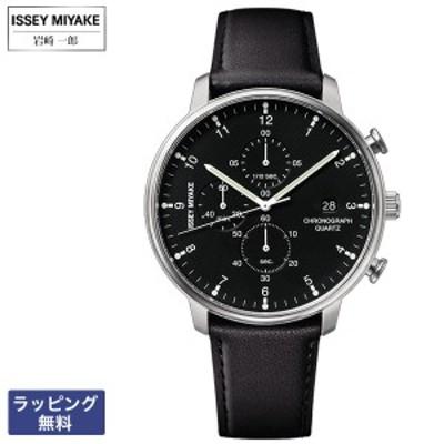 イッセイミヤケ 腕時計 ISSEY MIYAKE C シィ Ichiro Iwasaki 岩崎 一郎 クオーツ クロノグラフ メンズ 腕時計 NYAD003