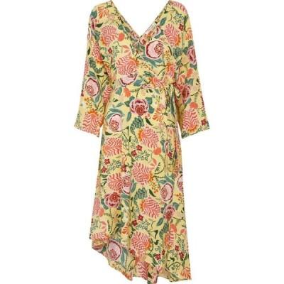 ダイアン フォン ファステンバーグ Diane von Furstenberg レディース ワンピース ミドル丈 ワンピース・ドレス Eloise floral midi dress Oasis Tapis