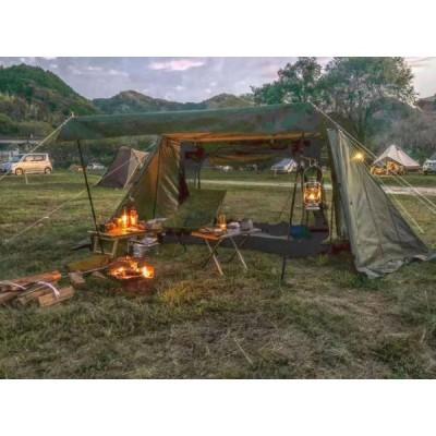 テント キャンプ アウトドア インナーテントが付け 2-3人用多機能厚い 防水 地震 防災 登山ピクニック旅行アウトドア