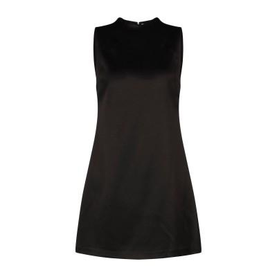 アリス・アンド・オリビア ALICE + OLIVIA ミニワンピース&ドレス ブラック 2 トリアセテート 75% / ポリエステル 25% ミニ