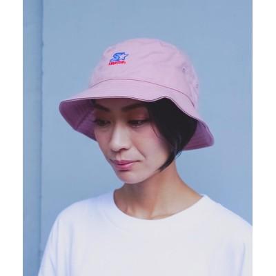 LB/S / 【STARTER/スターター】ロゴ刺繍ツイルバケットハット MEN 帽子 > ハット