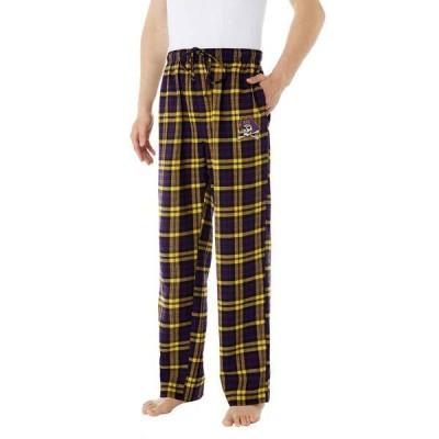 コンセプツ スポーツ メンズ カジュアルパンツ ボトムス Concepts Sport Men's East Carolina Pirates Parkway Flannel Pajama Pants