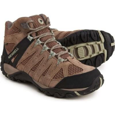 メレル Merrell レディース ハイキング・登山 ブーツ シューズ・靴 Accentor 2 Mid Vent Hiking Boots - Waterproof, Leather Brindle/Tea