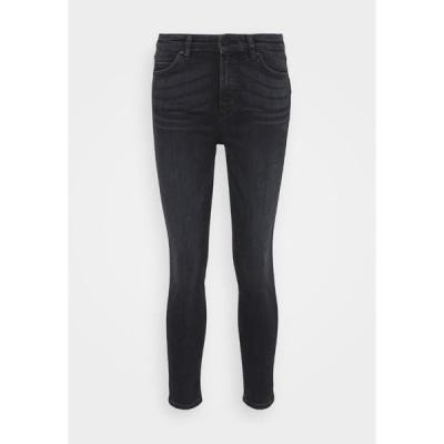 マルコポーロ デニム デニムパンツ レディース ボトムス KAJ CROPPED - Slim fit jeans - multi/mid grey