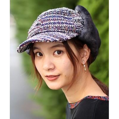 チチカカ / ツイードフライト キャップ WOMEN 帽子 > キャップ