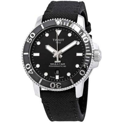 腕時計 ティソット メンズ Tissot Seastar 1000 Automatic Black Dial Men's Watch T120.407.17.051.00