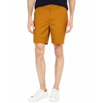 フレッドペリー メンズ ハーフパンツ・ショーツ ボトムス Classic Twill Shorts Dark Caramel