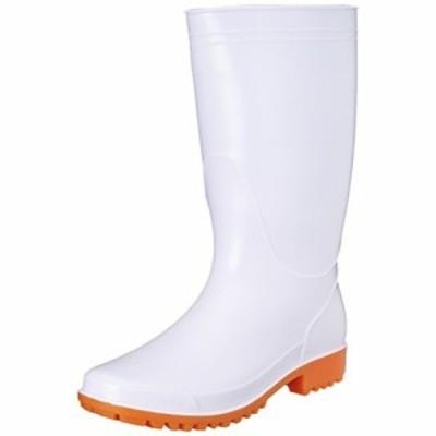 [キタ] 作業靴 長靴 衛生長 PVC 耐油底仕様(抗菌/防臭加工) KR-7410 ホワイト(ホワイト/27.0)
