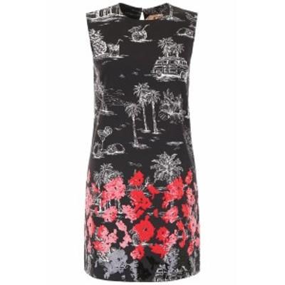 N.21/ヌメロ ヴェントゥーノ ドレス BLACK MULTI N.21 printed dress with sequins レディース 春夏2019 H033 0537 ik