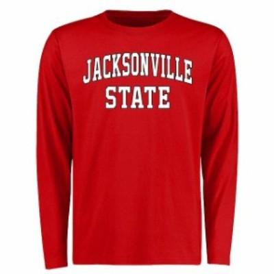 Fanatics Branded ファナティクス ブランド スポーツ用品  Jacksonville State Gamecocks Red Everyday Long Sleeve T-