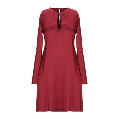 メルシー ..,MERCI ミニワンピース&ドレス ボルドー 38 レーヨン 95% / ポリウレタン 5% ミニワンピース&ドレス