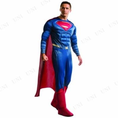 コスプレ 仮装 DXスーパーマン XL コスプレ 衣装 ハロウィン 仮装 大人用 コスチューム メンズ アメコミ スーパーマン パーティーグッズ
