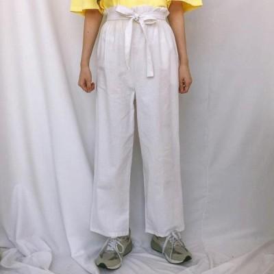 GIRLS RULE レディース パンツ Nutri Ribbon Linen Pants