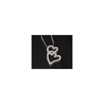 K18 ダイヤモンド 0.27ct ハート ペンダント 4月誕生石 アクセサリー