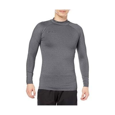 [ヒュンメル] インナー長袖シャツ あったかインナーシャツ メンズ ダークヘザー (03) 日本 L (日本サイズL相当)