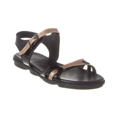 アーク レディース サンダル シューズ Arche Palmax Leather Sandal Venus leather; black patent leather