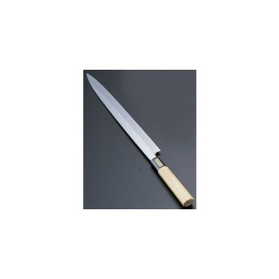 SA佐文 本焼鏡面仕上 柳刃 木製サヤ 27cm ASB51027