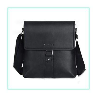 Leathario PU Shoulder Bag Men's Messenger Bag Crossbody Bag Satchel Bag並行輸入品
