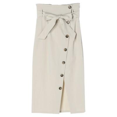 【MURUA】ボタンペンシルタイトスカート