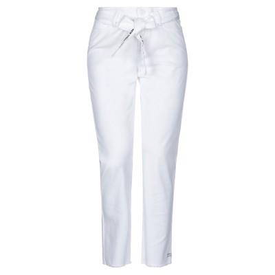 カンビオ CAMBIO パンツ ホワイト 36 コットン 97% / ポリウレタン 3% パンツ