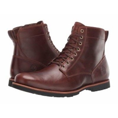 ティンバーランド メンズ ブーツ&レインブーツ シューズ Kendrick Side Zip Waterproof Boot Medium Brown Full-Grain