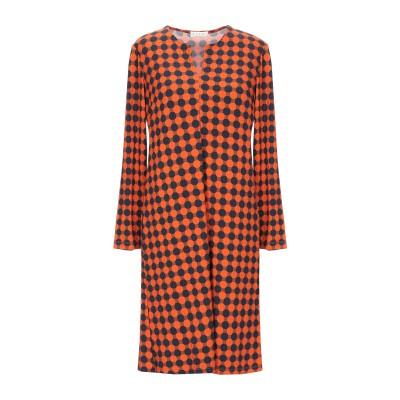 SIYU ミニワンピース&ドレス オレンジ 36 レーヨン 95% / ポリウレタン 5% ミニワンピース&ドレス