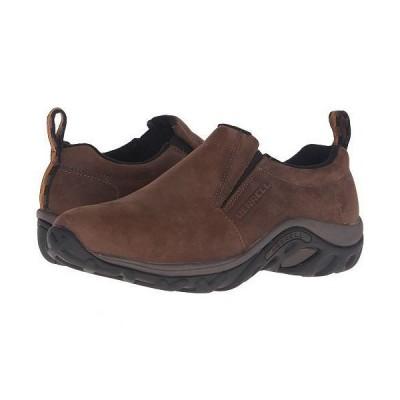 Merrell メレル メンズ 男性用 シューズ 靴 ローファー Jungle Moc Nubuck - Brown Nubuck