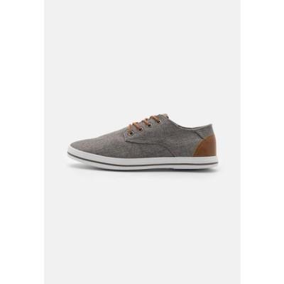 ピアワン メンズ 靴 シューズ Casual lace-ups - grey