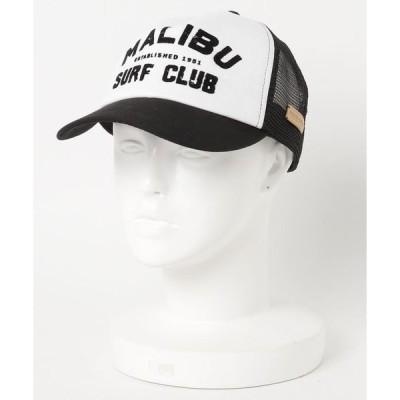 帽子 キャップ MALIBU SHIRTS MALIBU SURF CLUB TWILL MESH CAP