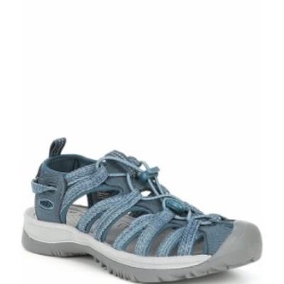 キーン レディース サンダル シューズ Waterfront Whisper Day Sandals Smoke Blue