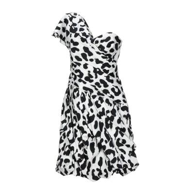 BOUTIQUE MOSCHINO ミニワンピース&ドレス ホワイト 38 コットン 96% / ポリウレタン 4% ミニワンピース&ドレス