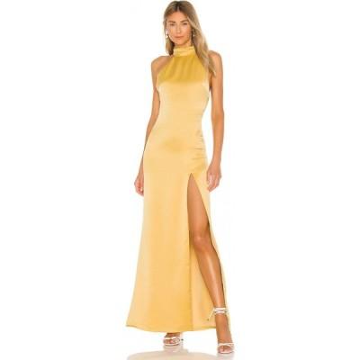 エヌビーディー NBD レディース パーティードレス ワンピース・ドレス Twyla Gown Antique Gold