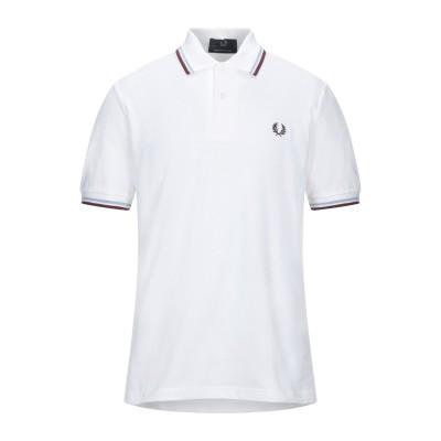 フレッドペリー FRED PERRY ポロシャツ ホワイト 36 コットン 100% ポロシャツ