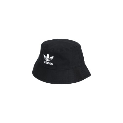 ADIDAS ORIGINALS 帽子 ブラック one size コットン 100% 帽子