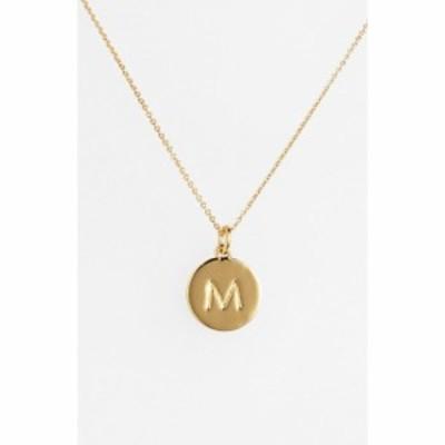 ケイト スペード KATE SPADE NEW YORK レディース ネックレス ジュエリー・アクセサリー one in a million initial pendant necklace M/G